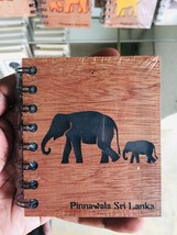 100% Elephant Dung Paper NOTE BOOK handmade paper from SRILANKA - $32.99
