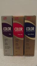 Original Wella Couleur Parfait Toners Permanent Cheveux Crème Gel ~ U Ch... - $4.80+