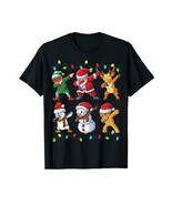 ugly christmas sweater- Dabbing Santa Elf Friends Christmas Xmas sweater... - $26.95