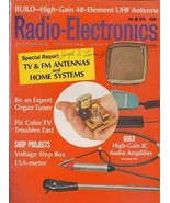 Radio-Electronics  April 1968 - $2.50
