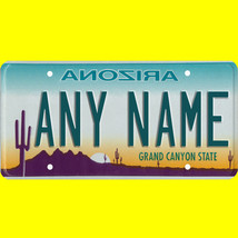 1/43-1/5 scale custom license plate set any brand RC/model car - Arizona... - $11.00