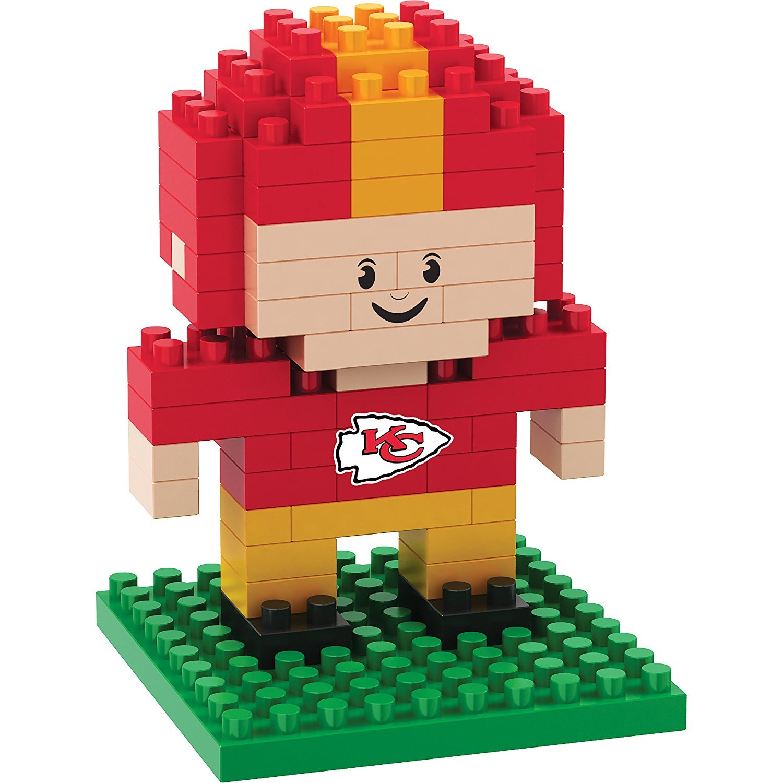 Used, BRXLZ Kansas City Chiefs Player 3D Construction Mini Lego Style Blocks for sale  USA