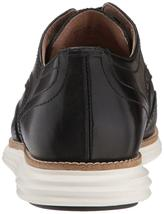 Neuf Homme Cole Haan Original Grand Shortwing Noir Robe Ivoire Chaussures 10 image 4