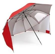 Outdoor Canopy Umbrella Portable Beach Rain Sun Shade Wind Weather Shelt... - $89.68 CAD
