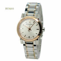 Authentic Burberry Two Tone White Dial Stainless Steel Women's Watch BU9205 - $242.14 CAD