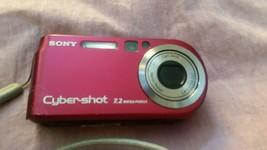 Sony Cyber-Shot  7.2 Megapix Digital Camera - red - $19.99