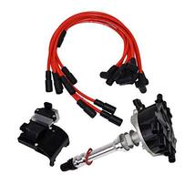 A-Team Performance Distributor, 8mm Spark Plug Wires, Ignition Coil, and Ignitio