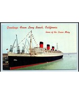 Modern Picture Postcards - (USA - CA - Long Beach) Queen Mary Long Beach... - $5.00