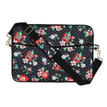 """Quip Brand Sm Padded Laptop Sleeve with Strap! QUIP Laptop case 13.5""""x10.25"""" NEW image 4"""