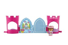 Fisher-Price Little People Maid Marian Pop Open Castle - $13.54