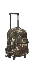 "NEW! Kids Boys Rolling Backpack School Travel Bag Kid Wheeled 17"" - $57.39"