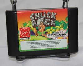 Chuck Rock Sega Genesis Virgin Games - $22.24