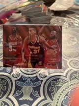 1994-95 Fleer Team Leaders #4 Hakeem Olajuwon/Reggie Miller/Loy Vaught - - $6.24