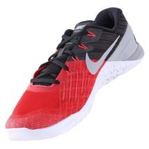NIKE Metcon 3 Men's Training Shoes University Red/Grey 852928 600 sz 9.5... - $59.97