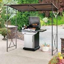 Patio Steel Gazebo 7x4.6'' Outdoor Grill Yard Canopy Barbecue Tent Garde... - $231.52