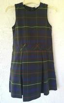 Becky Thatcher Elderwear Girl Jumper Sleeveles Plaid School Uniform Dres... - $16.99