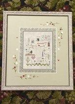 Sage Snowman christmas winter holiday cross stitch kit Shepherd's Bush     - $30.00