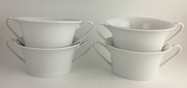 Rosenthal set of 4 cream soup bowls WHITE - $35.00