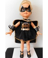 """1984 KIMBERLY DOLL 17"""" dressed as Batman..a really unique outift BATMAN... - $54.95"""