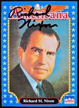Richard Nixon Autographed Card - $79.30