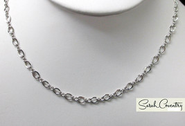 Vintage Sarah Coventry  Jewelry - #3023 Open Link Choker - $14.16