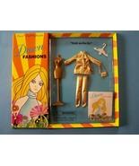 """2001 DAWN Groovy Fashion """"Gold au-Go-Go"""" fits most 6 1/2""""Doll Checkerbo... - $38.61"""