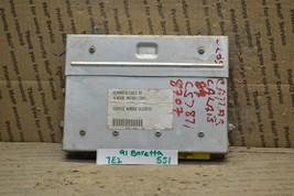 1990 1991 Chevrolet Beretta Engine Control Unit ECU 01228707 Module 551-7E2 - $27.69