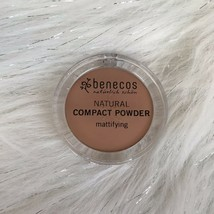 Brand New Benecos Natural Mattifying Compact Powder Foundation Sand .317 oz - $8.71