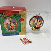 Mr Magoo Carlton Cards Christmas Ornament Carol Musical Light Up - $98.01