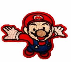 Super Mario Bros patch to sew jacket nintendo video game NES emblem logo... - $14.45