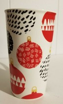 2016 Starbucks Mug 16 Ounce Christmas Ornaments Balls Coffee Cup - $10.00
