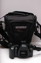Canon EOS 88 Film Camera  With Lowepro  Henry's Carrying Bag - $33.87