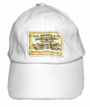 NEW LEVI'S RED TAB MEN'S PREMIUM CLASSIC COTTON BASEBALL HAT CAP ONE SIZE image 3