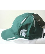 Nike Featherlight NCAA Michigan State Spartans Dri-Fit Mens Hat Green Wh... - $19.55
