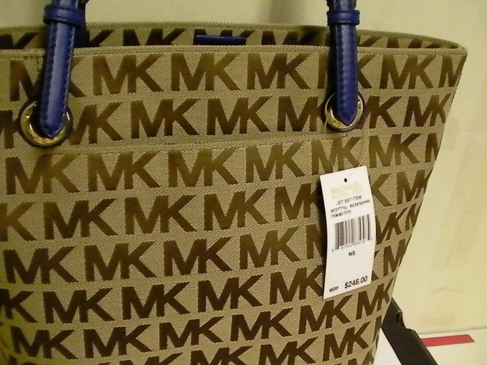 Michael Kors Jet Set Medio Bolso Tote Azul and 50 similar items