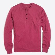 Neu J Mannschaft Herren Klein Langärmelig Freizeit Henley T-Shirt Hemd - $31.13