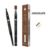 ABSOLUTE NEW YORK 2 IN 1 BROW PERFECTER POMADE & PENCIL IN 1 'CHOCOLATE' - $4.94