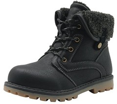 Apakowa New Boy's Winter Martin Boots Toddler/Little Kid 9 M US Toddler,... - $25.43