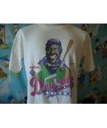 Vintage 80's Chicago Cubs Andre Dawson Caricature 1988 T Shirt L  - $59.39