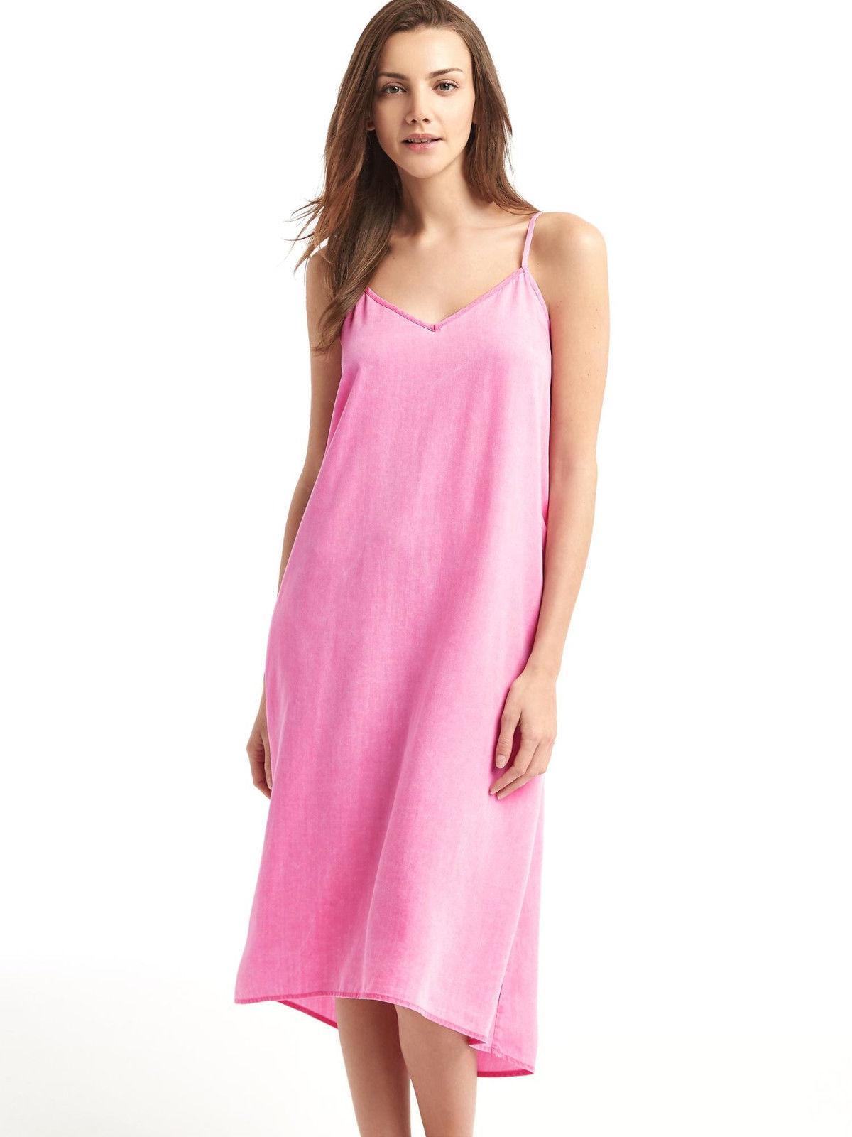 3f26e7426 GAP Women Dress Cami XS V-neck Denim Midi and 50 similar items