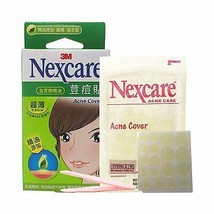 3M Nexcare Tea Tree Oil Acne  Patch Pimple Stickers Combo Utra Thin 18pcs image 2