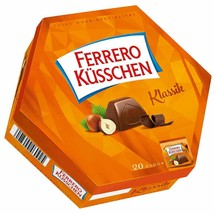 Ferrero Kusschen KISSES in MILK chocolate- Made in Germany FREE SHIPPING - $13.32