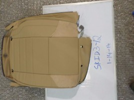 New Oem Leather Seat Cover Mercedes Benz Ml Class 06-11 Right Rear Row Upper Tan - $64.35