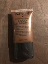 Born To Glow Liquid Illuminator, LI04 Sun Goddess! Sealed - $7.91