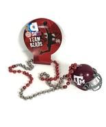 Texas A&M Helmet Mardi Gras Beads NCAA Team Fan College Football Necklac... - $10.71
