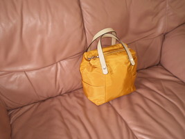 """Handbag""""Zara"""" Basic""""Collection Yellow Color Used - $25.90"""