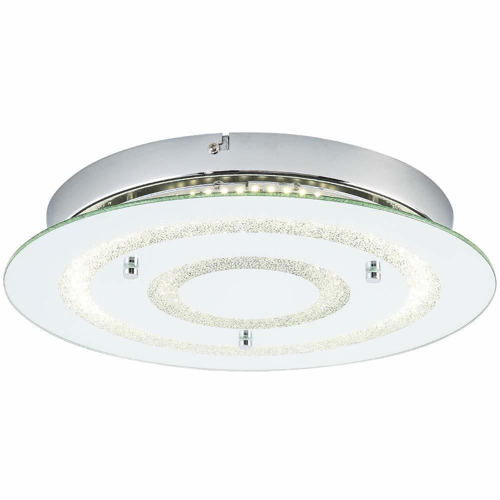 Auffel Minimalist LED Ceiling Light,Modern Roundness Flush
