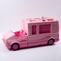Mattel Barbie Magical Motor Home Van RV Camper Pink Vintage 1990 Toy - $54.45