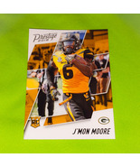 NFL J' MON MOORE GREEN BAY PACKERS 2018 PANINI PRESTIGE RC MINT - £0.92 GBP