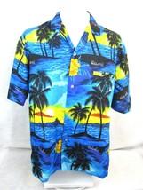 "ROYAL CREATIONS vintage 1990s Men Hawaiian ALOHA shirt XL 26"" p2p luau c... - $14.68"